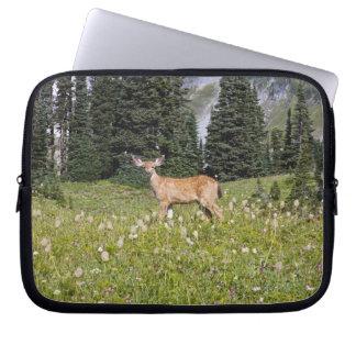 Deer in Paradise Park Laptop Sleeve