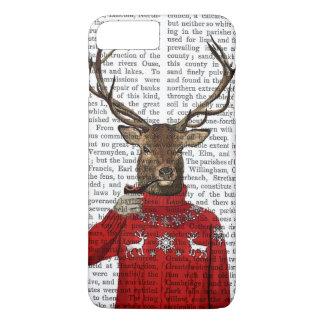 Deer in Ski Sweater 2 iPhone 8 Plus/7 Plus Case
