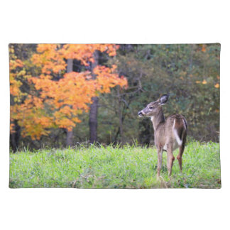 Deer In the Field on an Autumn Day II Placemat