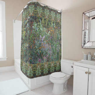 Deer in the Gardens First Freeze Early Fall 2 Shower Curtain