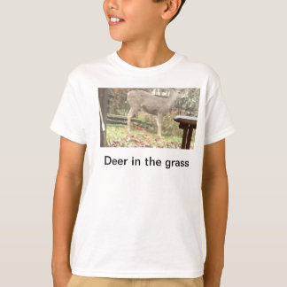 Deer In the grass T-shirt