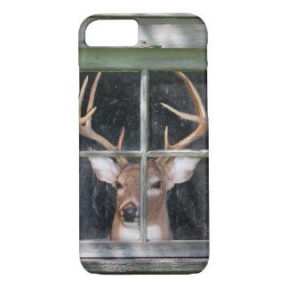 deer in window iPhone 8/7 case