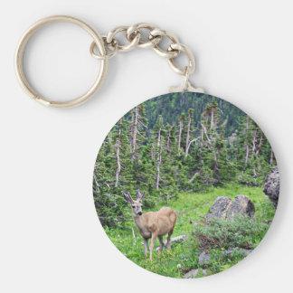 Deer Key Ring