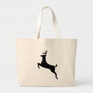 Deer Large Tote Bag