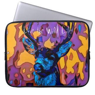 Deer - Life the Wild Life / Laptop Sleeve