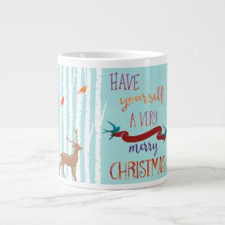 Deer Merry Christmas Espresso Mug