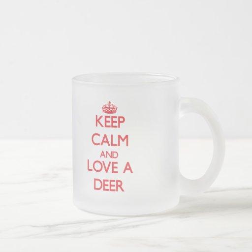 Deer Coffee Mugs