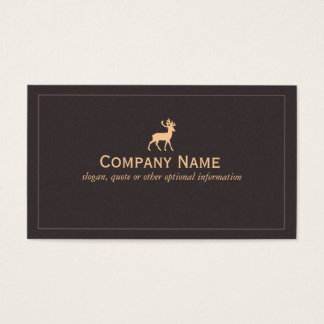 Deer Nature and Wilderness Business Card