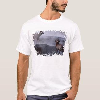 Deer on Rock Formation T-Shirt