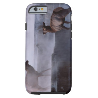 Deer on Rock Formation Tough iPhone 6 Case