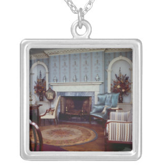 Deer Park Parlor Silver Plated Necklace