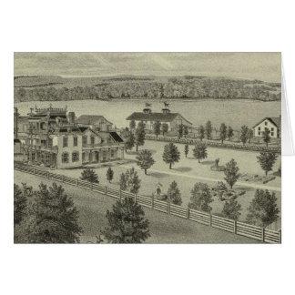 Deer Park Place Farm, Strong City, Kansas Card