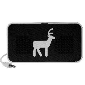 Deer Pictogram Doodle Speaker
