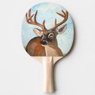 Deer Ping Pong Paddle