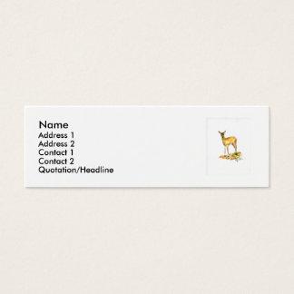 Deer Profile Card