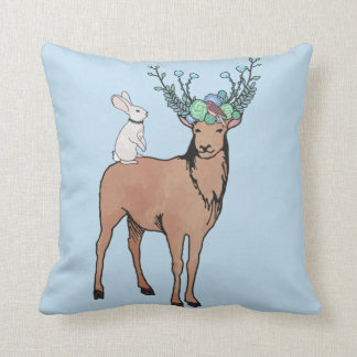 Deer Rabbit Cushion
