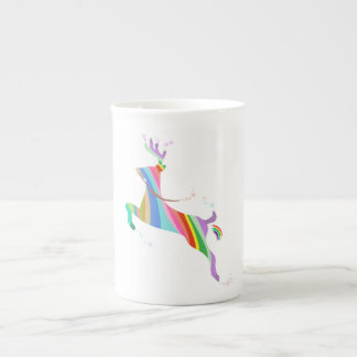 Deer Rainbow Animal Tea Cup