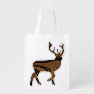 Deer Reusable Grocery Bag