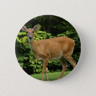 Deer Round Button