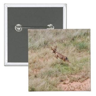 Deer Running Buttons