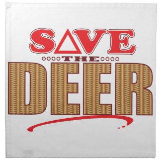 Deer Save Napkin