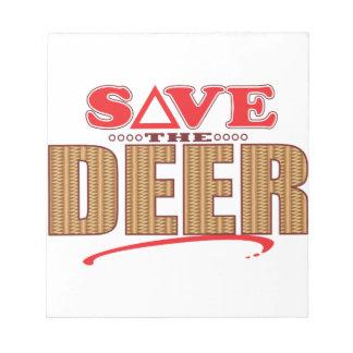 Deer Save Notepad