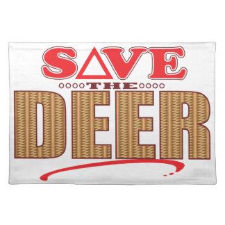 Deer Save Placemat