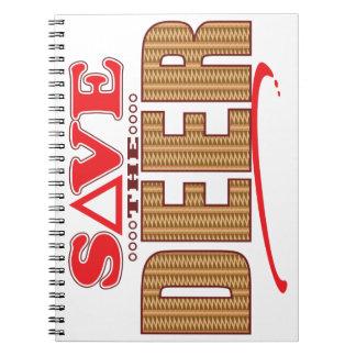 Deer Save Spiral Notebook