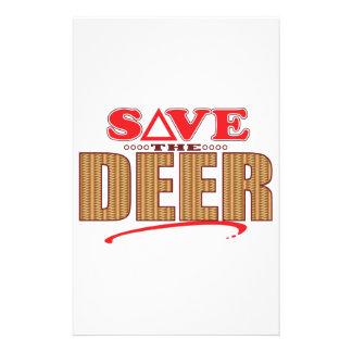 Deer Save Stationery