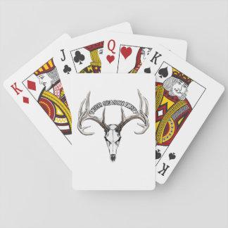 Deer Season Dirty playing cards