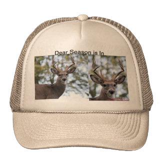 Deer season is in trucker hat