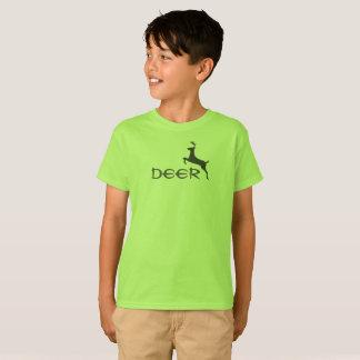 Deer shirt kid