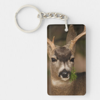 deer Single-Sided rectangular acrylic key ring