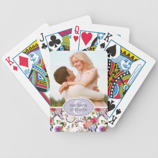 Deer Skulls, Flowers & Dream Catchers - Wedding Ph Bicycle Playing Cards