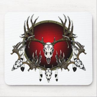 Deer skulls mousepad