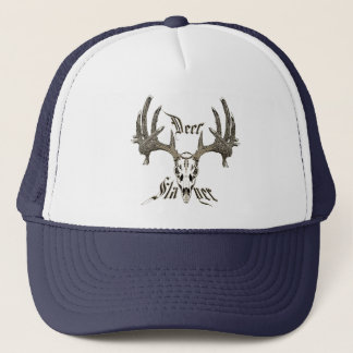 Deer slayer trucker hat