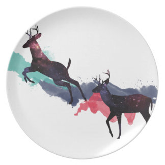 Deer space plate