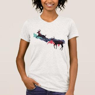 Deer space shirt