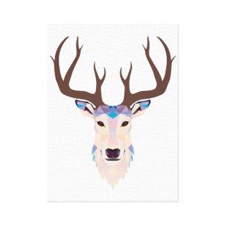 Deer stag Canvas Print