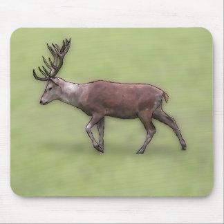 Deer Stag Digital Art Mousepads