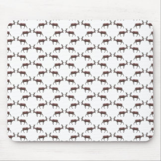 Deer Stag Pattern. Mousepads
