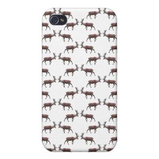 Deer Stag Pern. iPhone 4 Case