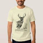 Deer standing tee shirt
