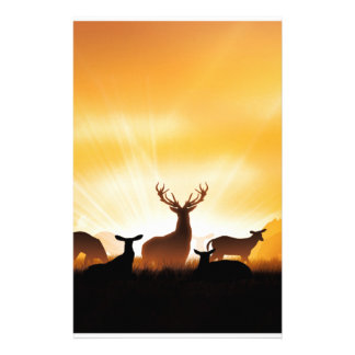 Deer Stationery