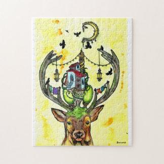 Deer styles jigsaw puzzle