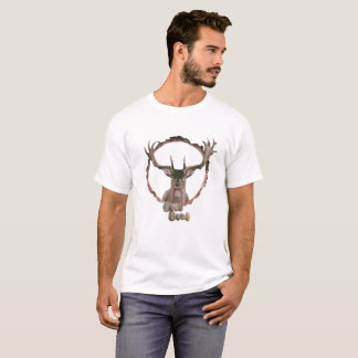Deer T-shirt for outdoor and nature enthusiasts.