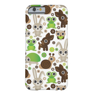 deer turtle bunny animal wallpaper barely there iPhone 6 case