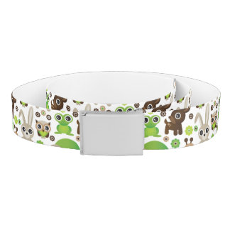 deer turtle bunny animal wallpaper belt