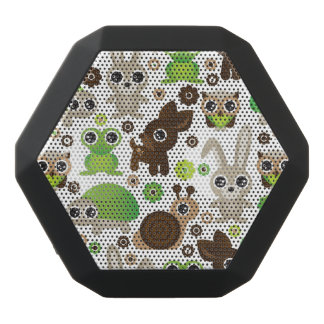 deer turtle bunny animal wallpaper black bluetooth speaker