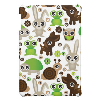 deer turtle bunny animal wallpaper case for the iPad mini